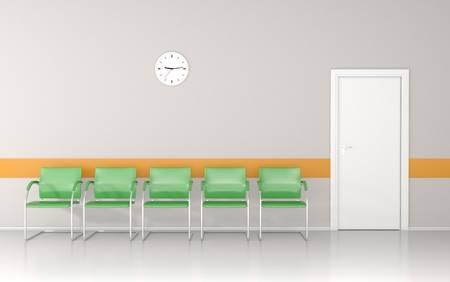 Waiting Room Clock
